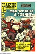 Golden Age (1938-1955):Classics Illustrated, Classics Illustrated #63 The Man Without a Country - First Edition(Gilberton, 1949) Condition: FN/VF. Original first printi...