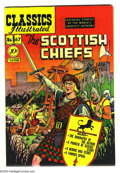 Golden Age (1938-1955):Classics Illustrated, Classics Illustrated #67 The Scottish Chiefs - First Edition(Gilberton, 1950) Condition: VF. Original first printing. Alex ...