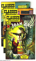 Golden Age (1938-1955):Classics Illustrated, Classics Illustrated #78-80 First Edition Group (Gilberton, 1950-51) Condition: Average FN+. This group consists of three co... (Total: 3 Comic Books Item)