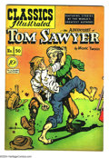 Golden Age (1938-1955):Classics Illustrated, Classics Illustrated # 50-51 First Edition Group (Gilberton, 1944)Condition: FN. Original editions. Tom Sawyer and Th... (Total: 2Comic Books Item)