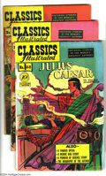Golden Age (1938-1955):Classics Illustrated, Classics Illustrated #68-70 First Edition Group (Gilberton, 1950)Condition: Average FN. This group consists of three comics...(Total: 3 Comic Books Item)
