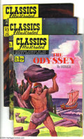 Golden Age (1938-1955):Classics Illustrated, Classics Illustrated #81-85 First Edition Group (Gilberton, 1951)Condition: Average FN. This group consists of five comics:...(Total: 5 Comic Books Item)