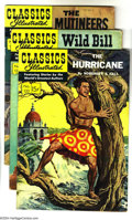 Golden Age (1938-1955):Classics Illustrated, Classics Illustrated #120-124 First Edition Group (Gilberton,1954-55) Condition: Average FN. This group consists of five co...(Total: 5 Comic Books Item)