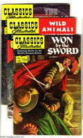 Silver Age (1956-1969):Classics Illustrated, Classics Illustrated #151-155 First Edition Group (Gilberton,1959-60) Condition: Average FN. This group consists of five co...(Total: 5 Comic Books Item)