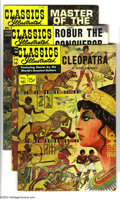 Silver Age (1956-1969):Classics Illustrated, Classics Illustrated #161-166 First Edition Group (Gilberton,1961-62) Condition: Average FN. This group consists of six com...(Total: 6 Comic Books Item)