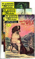 Golden Age (1938-1955):Classics Illustrated, Classics Illustrated #91-96 First Edition Group (Gilberton, 1952) Condition: Average VG/FN. This group consists of six comic... (Total: 6 Comic Books Item)