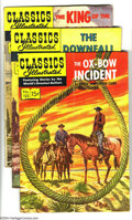 Golden Age (1938-1955):Classics Illustrated, Classics Illustrated #125-129 First Edition Group (Gilberton, 1955)Condition: Average VG/FN. This group consists of five co... (Total:5 Comic Books Item)