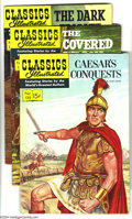 Silver Age (1956-1969):Classics Illustrated, Classics Illustrated #130-134 First Edition Group (Gilberton, 1956)Condition: Average VG/FN. This group consists of five co... (Total:5 Comic Books Item)