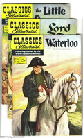 Silver Age (1956-1969):Classics Illustrated, Classics Illustrated #135-140 First Edition Group (Gilberton,1956-57) Condition: Average VG/FN. This group consists of six ...(Total: 6 Comic Books Item)