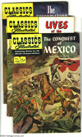 Silver Age (1956-1969):Classics Illustrated, Classics Illustrated #156-160 First Edition Group (Gilberton,1960-61) Condition: Average VG/FN. This group consists of five...(Total: 5 Comic Books Item)