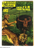 Golden Age (1938-1955):Classics Illustrated, Classics Illustrated Educational Series Shelter Through the Ages(Gilberton, 1951) Condition: GD. Overstreet lists this book...