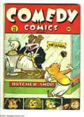 Golden Age (1938-1955):Funny Animal, Comedy Comics #12 (Timely, 1942) Condition: GD/VG. Overstreet 2003GD 2.0 value = $15; VG 4.0 value = $30....