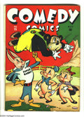 Golden Age (1938-1955):Funny Animal, Comedy Comics #15 (Timely, 1943) Condition: VG/FN. Overstreet 2003VG 4.0 value = $28; FN 6.0 value = $42....