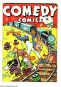 Golden Age (1938-1955):Funny Animal, Comedy Comics #19 (Timely, 1943) Condition: VG+. Overstreet 2003 VG4.0 value = $28....