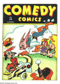 Golden Age (1938-1955):Funny Animal, Comedy Comics #20 (Timely, 1943) Condition: VG-. Overstreet 2003 VG4.0 value = $28....