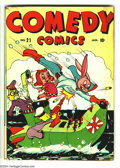 Golden Age (1938-1955):Funny Animal, Comedy Comics #21 (Timely, 1944) Condition: VG/FN. Overstreet 2003VG 4.0 value = $20; FN 6.0 value = $30....