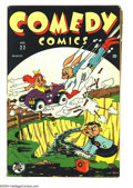 Golden Age (1938-1955):Funny Animal, Comedy Comics #22 (Timely, 1944) Condition: VG. Overstreet 2003 VG4.0 value = $20....