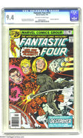 Bronze Age (1970-1979):Superhero, Fantastic Four #172 (Marvel, 1976) CGC NM 9.4 Off-white to white pages. Roy Thomas and Bill Mantlo story. George Perez and J...