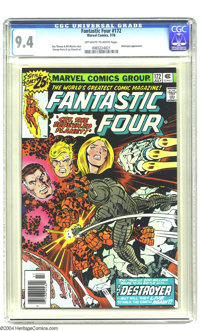 Fantastic Four #172 (Marvel, 1976) CGC NM 9.4 Off-white to white pages. Roy Thomas and Bill Mantlo story. George Perez a...