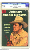 Silver Age (1956-1969):Western, Four Color #922 Johnny Mack Brown - File Copy (Dell, 1958) CGC NM- 9.2 Cream to off-white pages. Photo cover. Only copy of t...