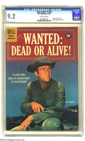 Silver Age (1956-1969):Western, Four Color #1164 Wanted: Dead or Alive! (Dell, 1961) CGC NM- 9.2 Off-white pages. Steve McQueen photo cover. Barely misses b...