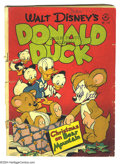 Golden Age (1938-1955):Funny Animal, Four Color Group (Dell, 1947-52) Condition: Average GD+. This groupincludes #178 (Donald Duck, GD-) and #386 (Uncle Scrooge... (Total:2 Comic Books Item)