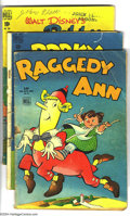 Golden Age (1938-1955):Funny Animal, Four Color Group (Dell, 1944-52) Condition: Average FR/GD. Thisgroup includes #45 (Raggedy Ann), 182 (Porky Pig), 208 (Brer...(Total: 7 Comic Books Item)