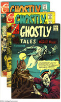 Silver Age (1956-1969):Horror, Ghostly Tales Group (Charlton, 1967-69) Condition: Average FN+.Issues 60-65, 67-73. Art by Steve Ditko, Jim Aparo, Pat Boye...(Total: 13 Comic Books Item)