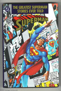 Books:Anthology, The Greatest Superman Stories Ever Told #nn (DC, 1987) Condition: NM. With an introduction by John Byrne....