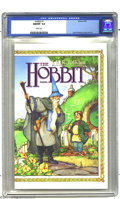 Modern Age (1980-Present):Miscellaneous, Hobbit #1 (Eclipse, 1989) CGC NM/MT 9.8 White pages. David Wenzel fully-painted cover and art. Prestige format. One of only ...