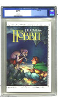 Modern Age (1980-Present):Miscellaneous, Hobbit #2 (Eclipse, 1990) CGC NM+ 9.6 White pages. David Wenzel fully-painted cover and art. Prestige format. This is the on...