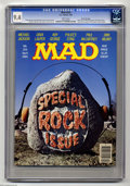 Magazines:Mad, Mad #254 Gaines FIle pedigree (EC, 1985) CGC NM 9.4 White pages.Photo cover. Special rock issue. Artists include Mort Druck...
