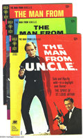 Silver Age (1956-1969):Adventure, Man from U.N.C.L.E. Group (Gold Key, 1966) Condition: Average VG/FN. This group includes # 9, 10, 11, and 13. Overstreet 200...