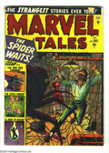 Golden Age (1938-1955):Horror, Marvel Tales #105 (Marvel, 1952) Condition: GD. Russ Heath cover.Overstreet 2003 GD 2.0 value = $63....