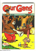 Golden Age (1938-1955):Funny Animal, Our Gang #8 (Dell, 1943) Condition: VG+. Overstreet 2003 VG 4.0value = $112....