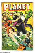 Golden Age (1938-1955):Science Fiction, Planet Comics #42 (Fiction House, 1946) Condition: VG. Joe Doolinand Murphy Anderson art. Overstreet 2003 VG 4.0 value = $1...