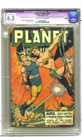 Golden Age (1938-1955):Science Fiction, Planet Comics #46 (Fiction House, 1947) CGC Apparent FN+ 6.5 Slight(A) Cream to off-white pages. Murphy Anderson, George Ev...