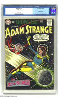Golden Age (1938-1955):Science Fiction, Showcase #19 Adam Strange (DC, 1959) CGC GD/VG 3.0 Off-white pages.Adam Strange's logo makes it's first appearance on this ...