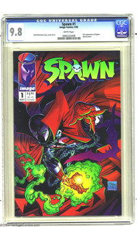 Spawn #1 (Image, 1992) CGC NM/MT 9.8 White pages. Todd McFarlane story, cover, and interior art. First appearance of Spa...