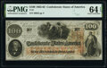 Confederate Notes:1862 Issues, T41 $100 1862 PF-10 Cr. 315A PMG Choice Uncirculated 64 EPQ.. ...