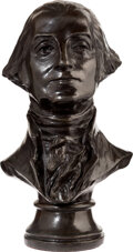 Political:3D & Other Display (1896-present), George Washington: Small Table Bust by Frank Gasparro....