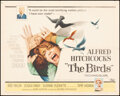 """Movie Posters:Hitchcock, The Birds (Universal, 1963). Folded, Fine+. Half Sheet (22"""" X 28""""). Hitchcock.. ..."""