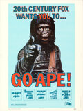 Movie Posters:Science Fiction, Go Ape! (20th Century Fox, 1974). Rolled, Very Fine-.