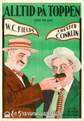 Movie Posters:Comedy, Fools for Luck (Paramount, 1928). Folded, Very Fine.