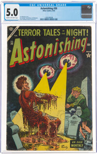 Astonishing #30 (Atlas, 1954) CGC VG/FN 5.0 Cream to off-white pages