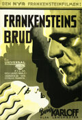 Movie Posters:Horror, The Bride of Frankenstein (Universal, 1935). Folded, Very ...