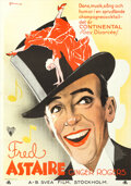 Movie Posters:Musical, The Gay Divorcee (RKO, 1934). Folded, Very Fine+. ...