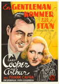 Movie Posters:Comedy, Mr. Deeds Goes to Town (Columbia, 1936). Folded, Very Fine...