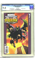 Modern Age (1980-Present):Superhero, Ultimate Spider-Man #7 (Marvel, 2001) CGC NM/MT 9.8 White pages. Green Goblin appearance. Brian Michael Bendis story. Mark B...