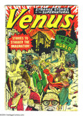 Golden Age (1938-1955):Science Fiction, Venus #11 (Atlas, 1950) Condition: GD/VG. Overstreet 2003 GD 2.0value = $85; VG 4.0 value = $170....